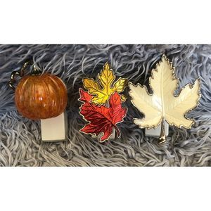 Bath & Body Works- Bundle of 3 Fall Wallflowers